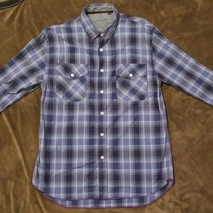 Arnold Zimberg Men's Plaid Shirt Medium